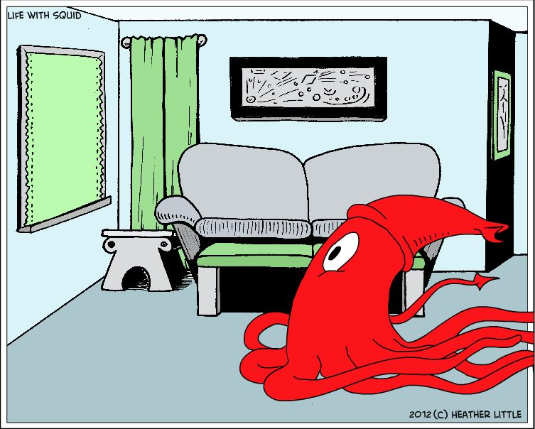 Run, Squiddy, Run!